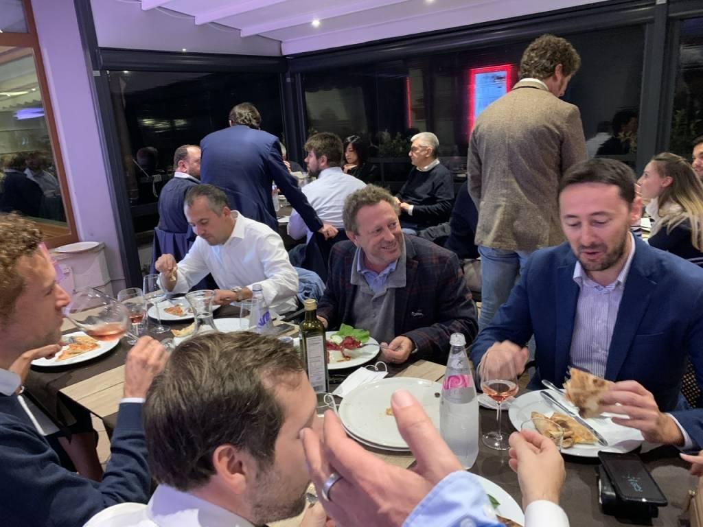 Il centrodestra di Varese a cena per ricaricarsi per il ballottaggio