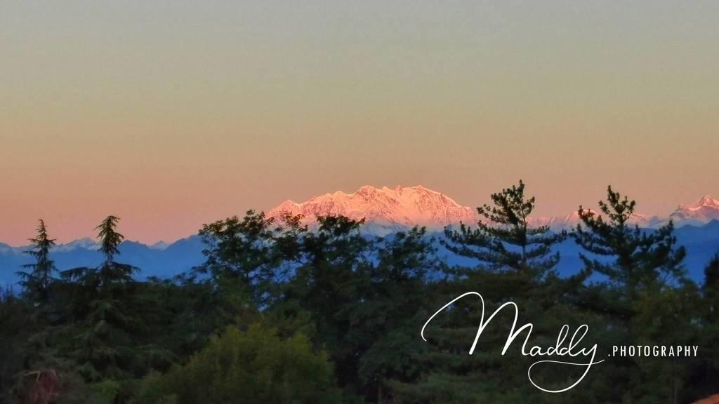 Il Monte Rosa visto da Maddy Crombach