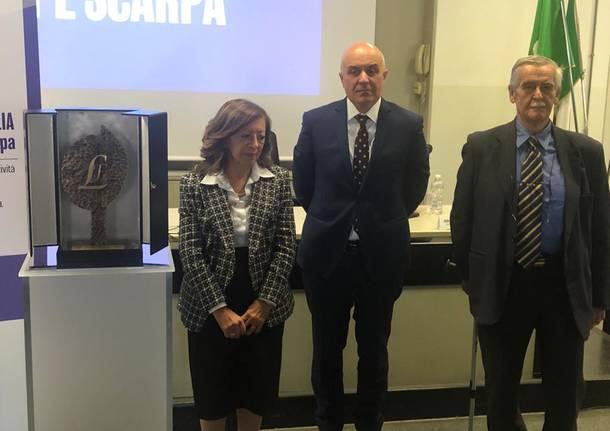 Il premio Lavoro e Famiglia a Albertina e Giuseppe Scarpa