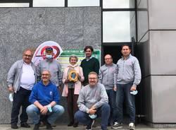 Inaugurazione nuovi DAE a Rescaldina
