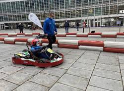 Karting in Piazza - go-kart regione lombardia