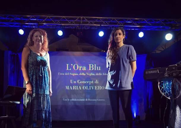 l'ora blu - spettacolo Rossana Girotto Maria Olivero