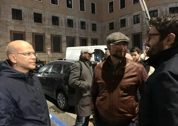 La conclusione della campagna elettorale di Davide Galimberti a Varese