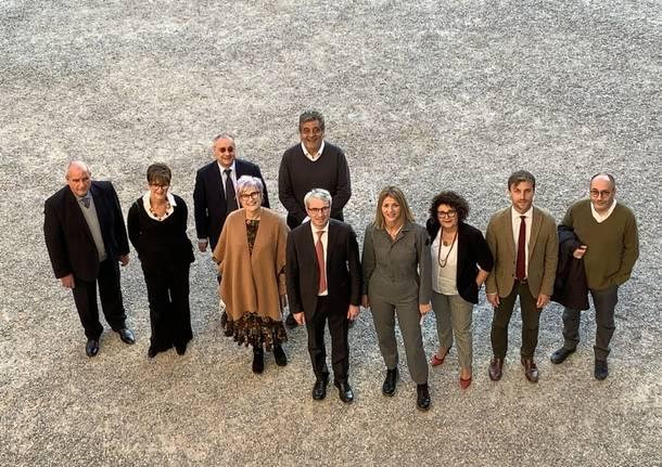 La nuova giunta Galimberti a Varese