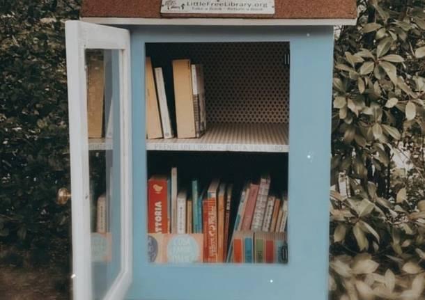 La piccola libreria del parco giochi di Casciago si è rifatta il look