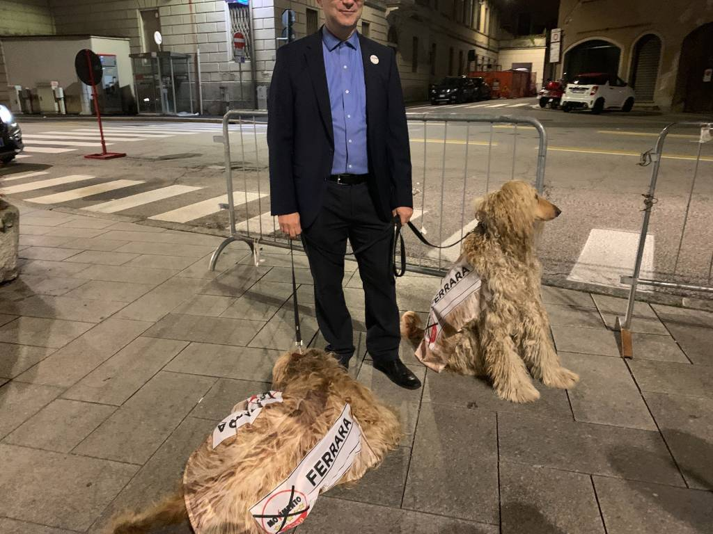 La lunga festa a Varese per le chiusure della campagna elettorale