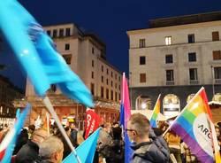 La piazza di Varese per il DDL Zan