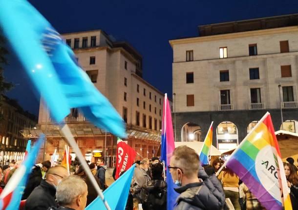 Varese in piazza per il DDL Zan