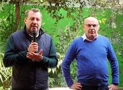 Matteo Salvini a Nerviano per il ballottaggio