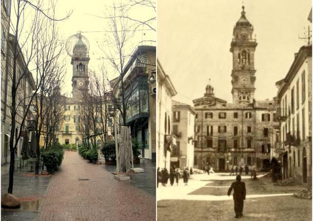 Metamorfosi urbana a Varese: il vecchio e il nuovo nella piazzadedicata alla Giovine Italia