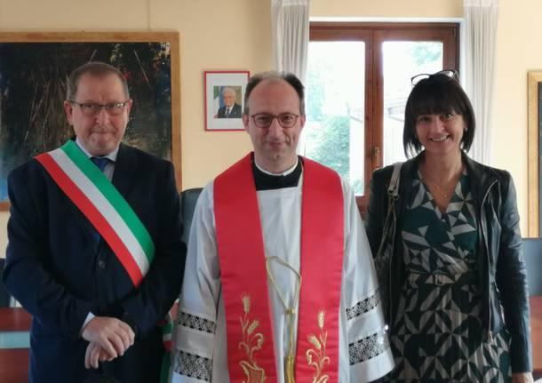 Nuovo parroco don Fabrizio Borsani
