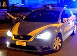 polizia di stato generica notte