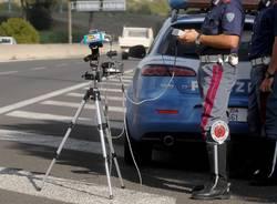 Polizia stradale autovelox controlli della velocità