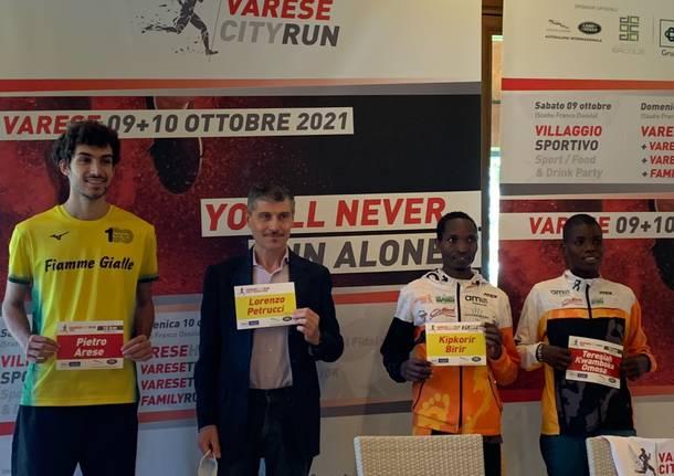 Presentazione Varese City Run
