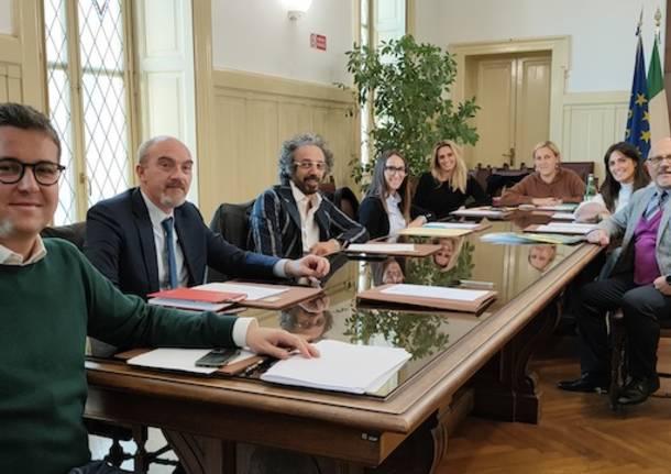 prima giunta Andrea Cassani 2021