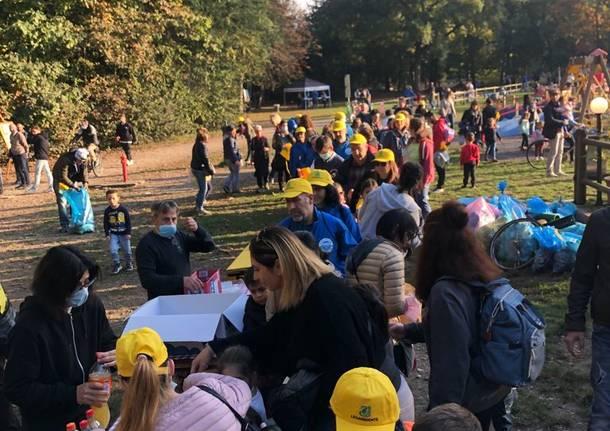 Associazioni e cittadini insieme per pulire il Parco Alto Milanese con Legambiente