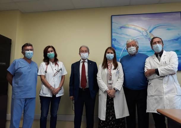 ricercatrice  nel reparto di oncoematologia pediatrica del Del Ponte