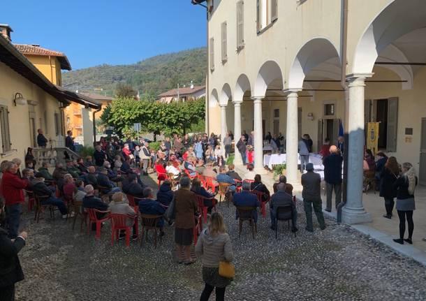 Il primo consiglio comunale a Saltrio