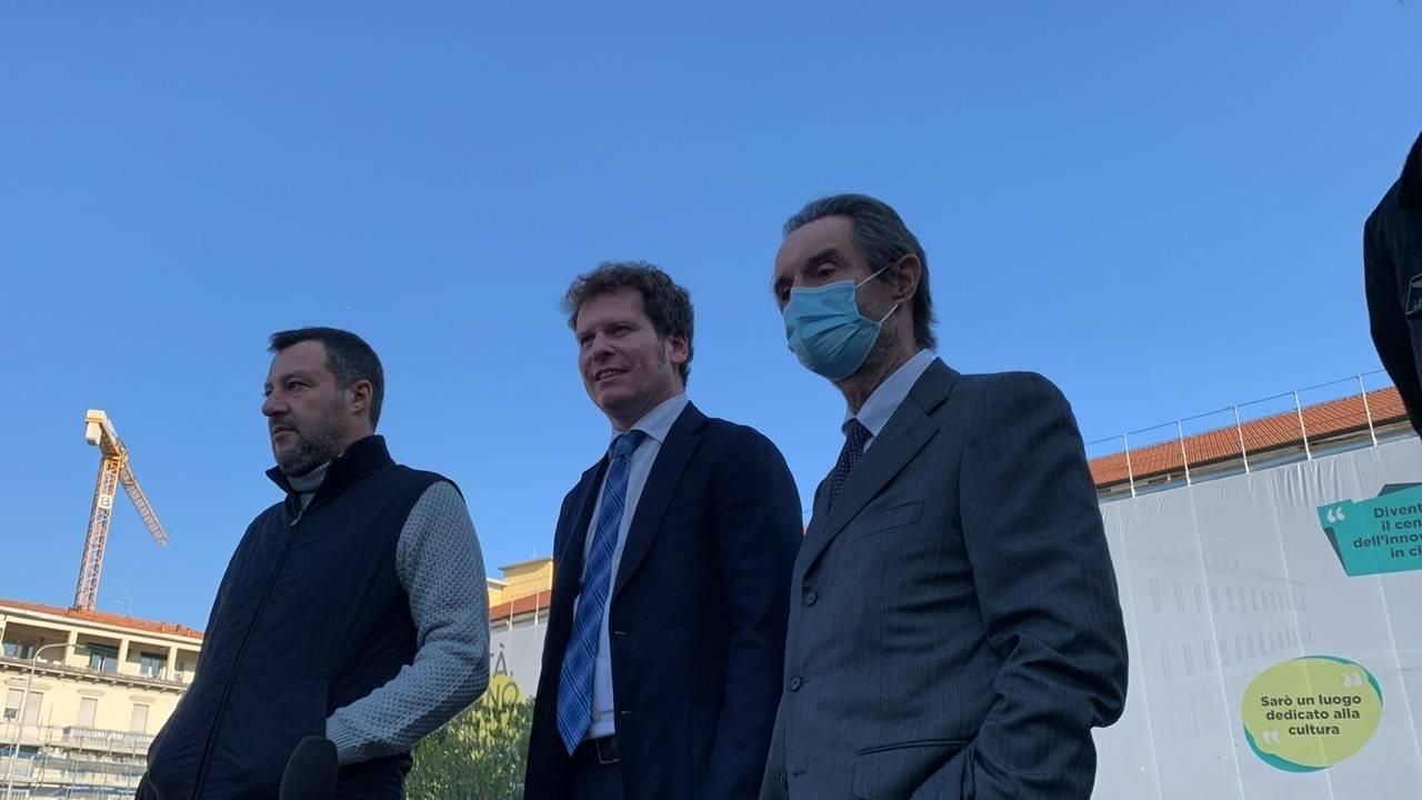 Salvini torna a Varese per sostenere Matteo Bianchi