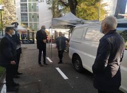 Sopralluogo al mercato di Saronno per sindaco e neo assessore