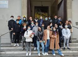 Studenti del Bernocchi alla scoperta di Legnano insieme al Gruppo Volontari Ciceroni