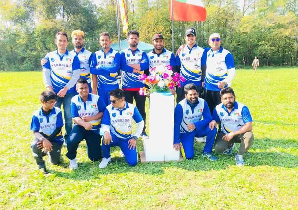 Torneo di cricket con la comunità dello Sri Lanka