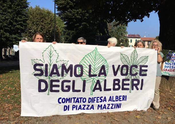 Tradate - Comitato piazza Mazzini