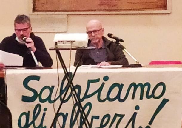 Tradate, l'agronomo Zanzi presenta la sua perizia sugli alberi di piazza Mazzini