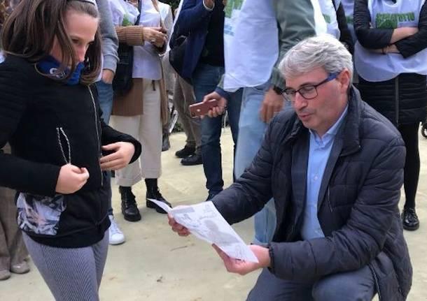Galimberti, ultimi incontri nei quartieri di Varese prima del ballottaggio