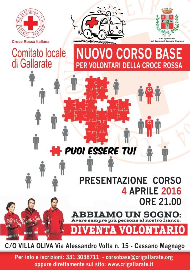 Il corso base della Croce Rossa