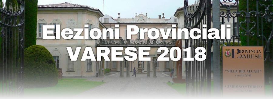 Logo elezioni provinciali 2018