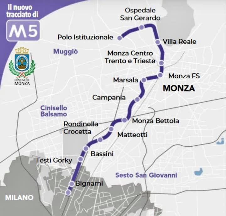 Nuove fermate a Baggio e Monza, cresce la metropolitana di Milano - Varesenews